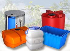 Пластиковые и стеклопластиковые емкости